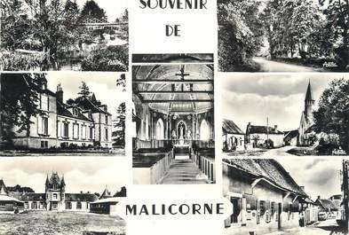 """/ CPSM FRANCE 89 """"Souvenir de Malicorne"""""""