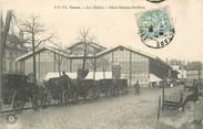 """37 Indre Et Loire CPA FRANCE 37 """"Tours, les Halles, Place Gaston Pailhou"""""""