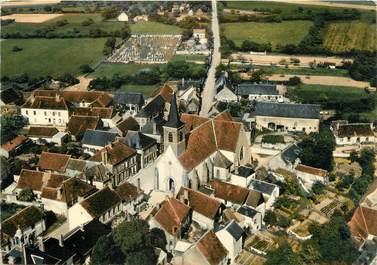 """/ CPSM FRANCE 89 """"Saint Martin sur Ouanne, vue générale aérienne """""""