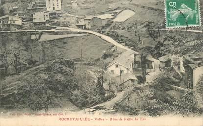 """.CPA  FRANCE 42 """"Rochetaillée, Vallée, Usine de paille de fer"""""""