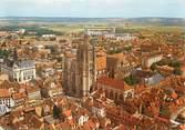 """89 Yonne / CPSM FRANCE 89 """"Sens, la cathédrale et l'hôtel de ville"""""""