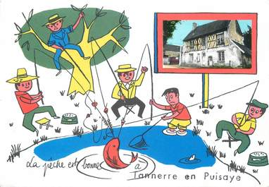 "/ CPSM FRANCE 89 ""Tannerre  en Puisaye"""