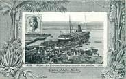 """Algerie CPA ALGERIE """"Alger, le transatlantique accoste au ponton"""" / AQUA PHOTO"""