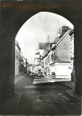 """/ CPSM FRANCE 89 """"Villeneuve sur Yonne, les deux portes"""""""