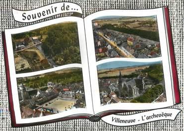 """/ CPSM FRANCE 89 """"Villeneuve l'Achevêque"""""""