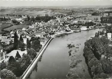 """/ CPSM FRANCE 89 """"Vincelles, vue panoramique sur la vallée de l'Yonne"""""""
