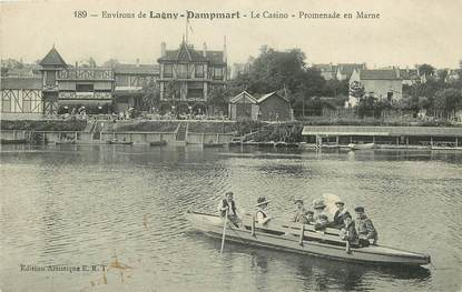 """CPA FRANCE 77 """"Env. de Lagny, Dampmart"""""""