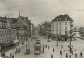 """90 Territoire De Belfort / CPSM FRANCE 90 """"Belfort, place Corbis"""" / TRAMWAY"""
