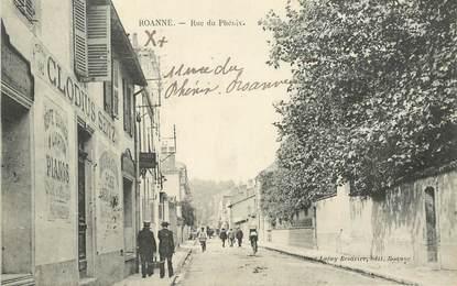".CPA  FRANCE 42 ""Roanne, rue du Phénix"""