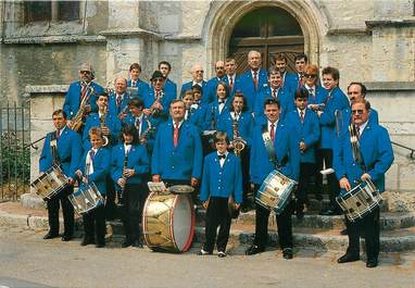 "/ CPSM FRANCE 91 ""Angerville"" / FANFARE"