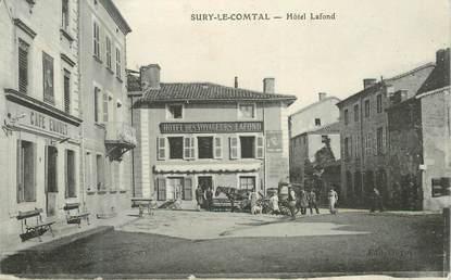 """.CPA  FRANCE 42 """" Sury le Comtal, Hôtel Lafond"""""""