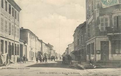 """.CPA  FRANCE 42 """" Sury le Comtal, Route de St Etienne """""""