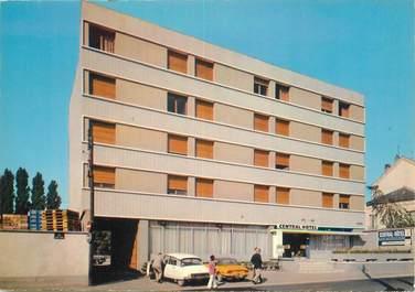 """/ CPSM FRANCE 91 """"Corbeil Essonnes, le central hôtel"""" / DS"""