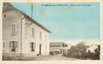 ".CPA  FRANCE 42 "" Saint Nizier sous Charlieu, Menuiserie Lamartine"""