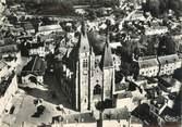 """91 Essonne / CPSM FRANCE 91 """"Dourdan, vue aérienne sur l'église"""""""