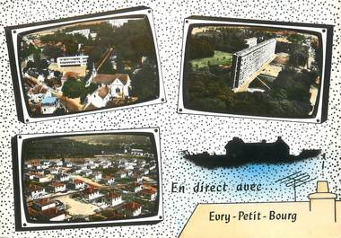 "/ CPSM FRANCE 91 ""Evry Petit Bourg """