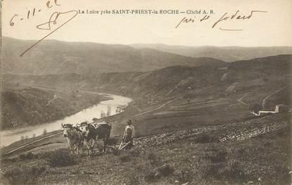 """.CPA  FRANCE 42 """" Saint Priest la Roche"""""""