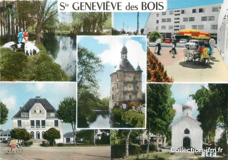 CPSM FRANCE 91 Sainte Geneviève des Bois   91 essonne  ~ Perray Vaucluse Sainte Genevieve Des Bois