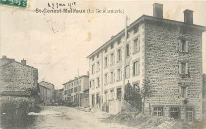 """.CPA FRANCE 42 """"St Genest Malifaux, La gendarmerie"""""""