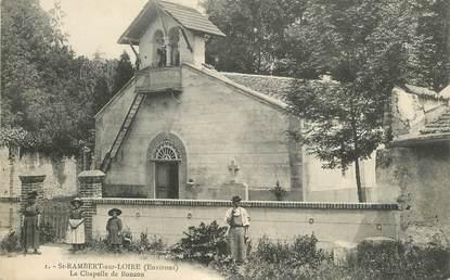 """.CPA FRANCE 42 """"St Rambert sur Loire, La chapelle de Bonson"""""""