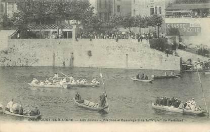 """.CPA FRANCE 42 """"St Just sur Loire, Les joutes"""""""