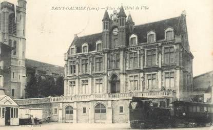 """.CPA FRANCE 42 """"St Galmier, Place de l'Hôtel de Ville"""""""
