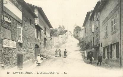 """.CPA FRANCE 42 """"St Galmier, Le Boulevard Belle Vue"""""""