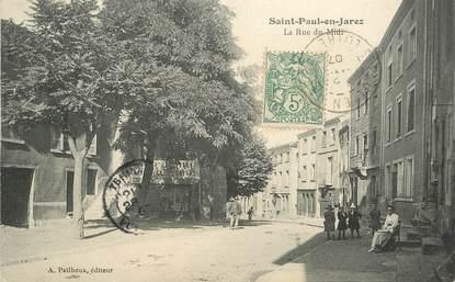 """.CPA FRANCE 42 """"St Paul en Jarez, La Rue du Midi"""""""