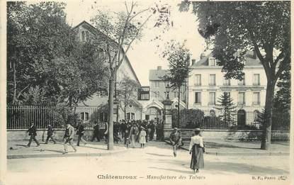 """CPA FRANCE 36 """"Chateauroux, la Manufacture de Tabacs"""""""