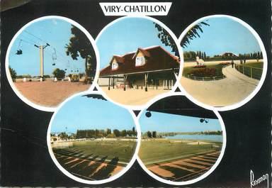 "/ CPSM FRANCE 91 ""Viry Chatillon"" / STADE"