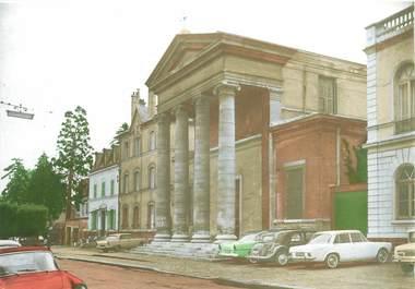 """/ CPSM FRANCE 92 """"Bourg La Reine, l'église"""""""