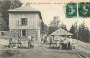 "38 Isere CPA FRANCE 38 ""Allevard les Bains, le Chalet de Brame Farine"""