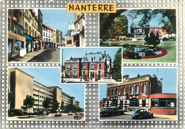 "/ CPSM FRANCE 92 ""Nanterre, divers aspects"""