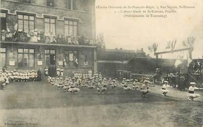 """.CPA  FRANCE 42 """"St Etienne, Oeuvres ouvrières de St François de Régis"""""""