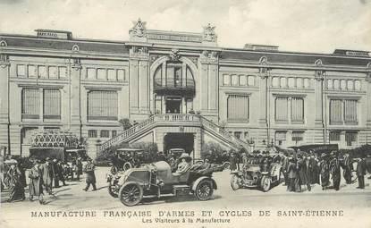 """.CPA  FRANCE 42 """"St Etienne, Manufacture Française d'Armes et Cycles"""""""