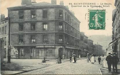 """.CPA  FRANCE 42 """"St Etienne, Quartier de la Roche du Soleil"""""""