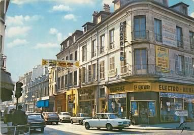 """CPSM FRANCE 93 """"Saint Denis, rue Gabriel Péri"""" AUTOMOBILE"""