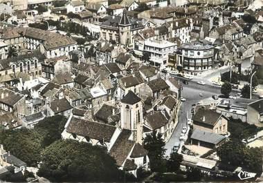 """/ CPSM FRANCE 94 """"Champigny sur Marne, vue aérienne sur le centre"""""""