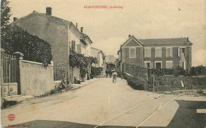 """.CPA  FRANCE 07 """"Alboussières"""""""