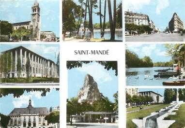 """/ CPSM FRANCE 94 """"Sainte Mandé"""""""