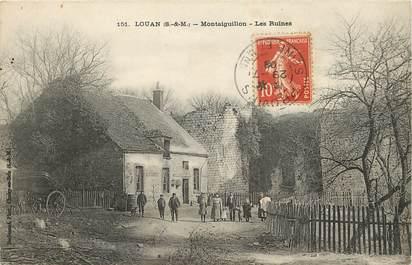 """CPA FRANCE 77 """"Louan, Montaiguillon"""""""