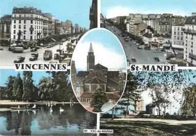 """/ CPSM FRANCE 94 """"Vincennes, Saint Mandé"""""""