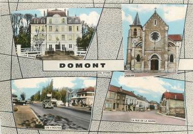 "/ CPA FRANCE 95 ""Domont"""