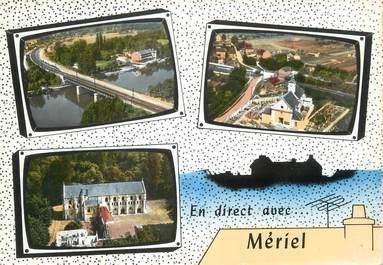 "/ CPA FRANCE 95 ""Meriel"""