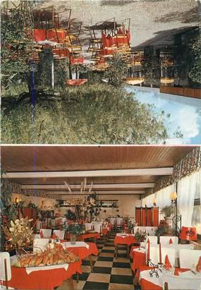 "/ CPA FRANCE 95 ""Montmorency, restaurant le Clos des Roses"""