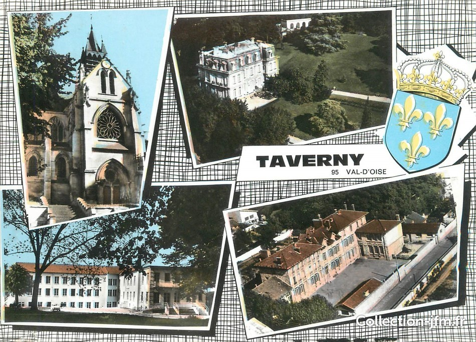 Taverny France  City new picture : CPA FRANCE 95