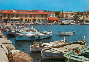 """/ CPA FRANCE 83 """"Le Brusc, un coin du port de pêche"""""""