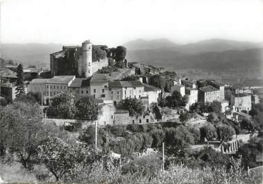 """/ CPA FRANCE 83 """"Callian, le village au pied de son château Féodal"""""""
