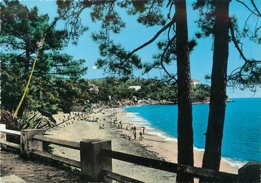 """/ CPA FRANCE 83 """"Le Canadel, la plage"""""""
