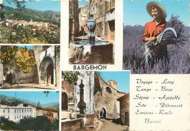 "/ CPA FRANCE 83 ""Bargemon """